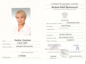 psycholog Gdańsk Paulina Chachuła
